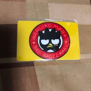XO octopus card sticker 八達通咭貼