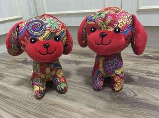 CNY limited design stuffed dogs #Under9