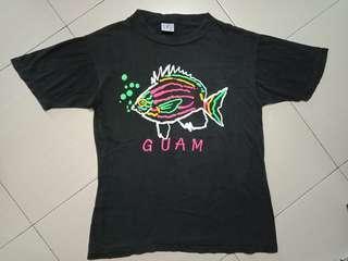 T shirt guam vintage