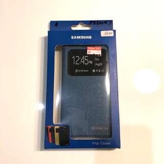 Samsung J510 blue flip cover