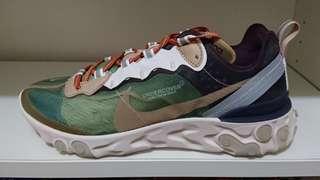 Nike react undercover ow off-white vapormax blazer