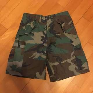 迷彩短褲 US ARMY MILITARY VINTAGE A2 N1 USMC HBT MA1
