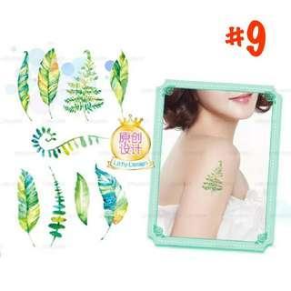 【件件8蚊】紋身貼紙