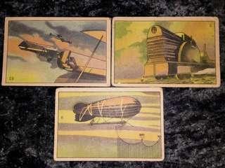 40年代 戰前?南洋兄弟煙草公司 煙仔卡 3張 少有 可散賣