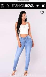 Fashion Nova Jeans Size 5