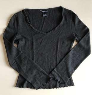 Guess Black Wool Long Sleeve