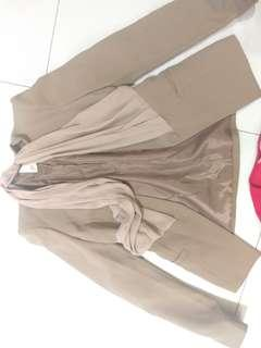 🚚 ZABARA時尚OL上班族氣質套裝外套九成新