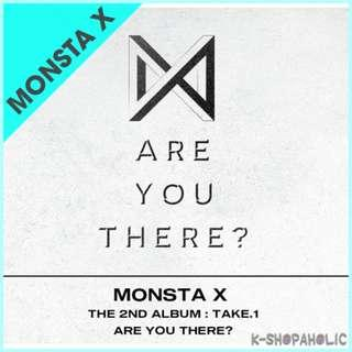 MONSTA X - 2nd Album ' TAKE.1 : ARE YOU THERE? '
