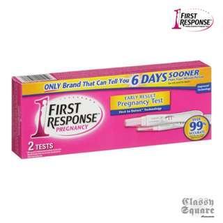 【旺角店現貨】First Response 超早孕驗孕棒 經期前 5 天可驗【2支裝】Exp 2020