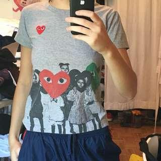 Cdg t shirt