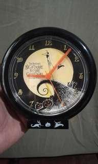 nightmare before christmas wall clock sega japan