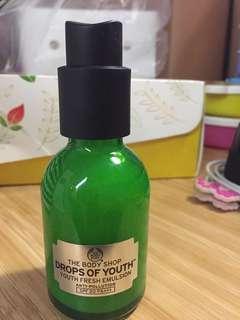 Body Shop Youth Fresh Emulsion (moisturizer)