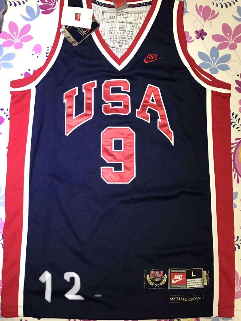 on sale e4cf2 07987 9 USA Dream Team (Dark Blue) Michael Jordan 1984 Olympics ...