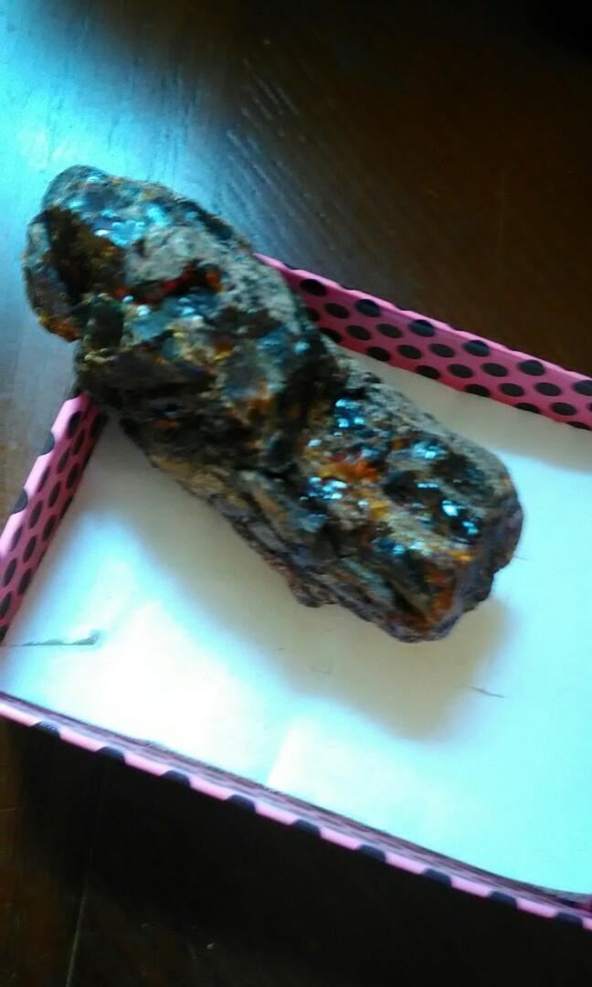 天然藍珀原礦