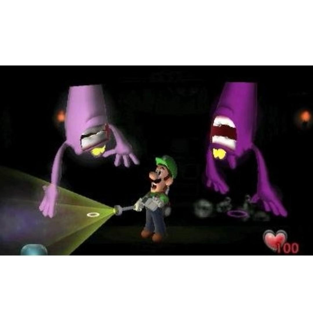 全新 3DS XL Luigi's Mansion (美版, 英文) -  路易 鬼屋 捉鬼 - Switch 路易吉 洋樓 3 迷必玩