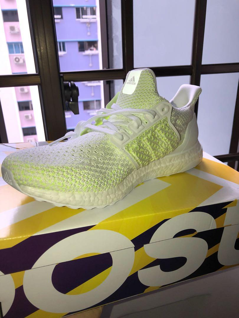 on sale 37f93 8d3db ✅ SALE AUTHENTIC ADIDAS ULTRA BOOST CLIMA SOLAR YELLOW ...