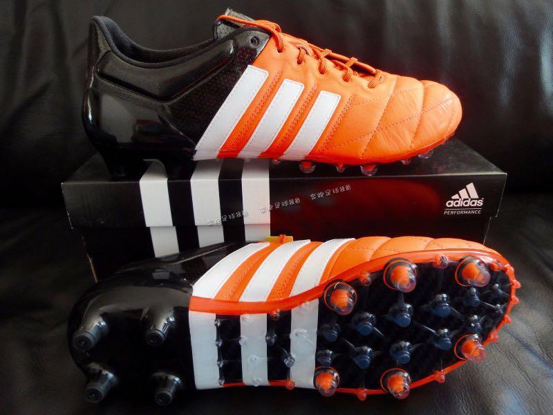 e9f6b97eda76d Adidas Ace 15.1 Leather Soccer Boots/Cleats FG/AG