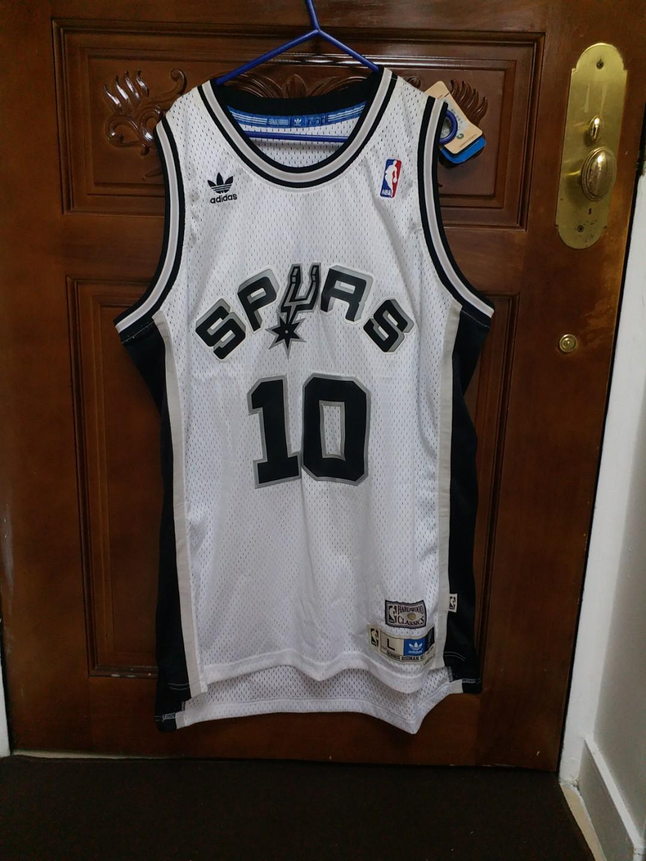 Adidas San Antonio Spurs Dennis Rodman Soul Swingman Home Jersey (Size L) 09d6318b5