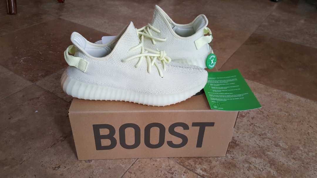 bdc9443f4 Adidas Yeezy Boost 350 v2 butter