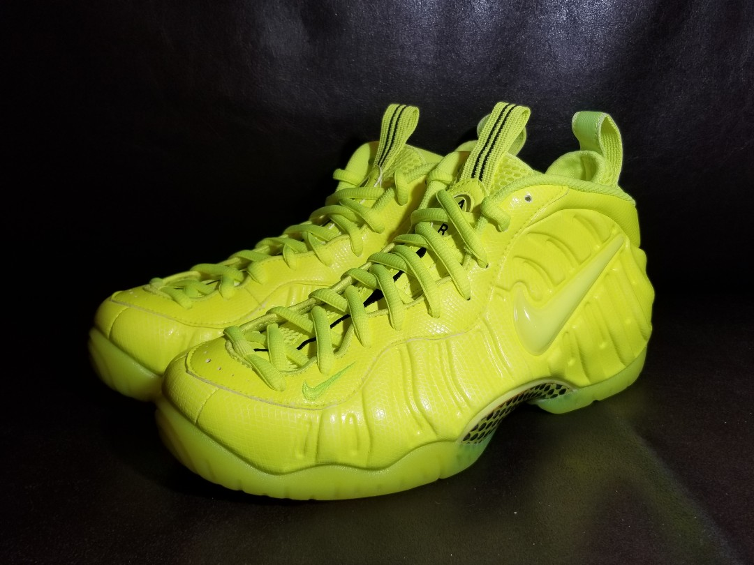 best service 7d98d 3edb2 Air Foamposite PRO - 螢光黃 volt