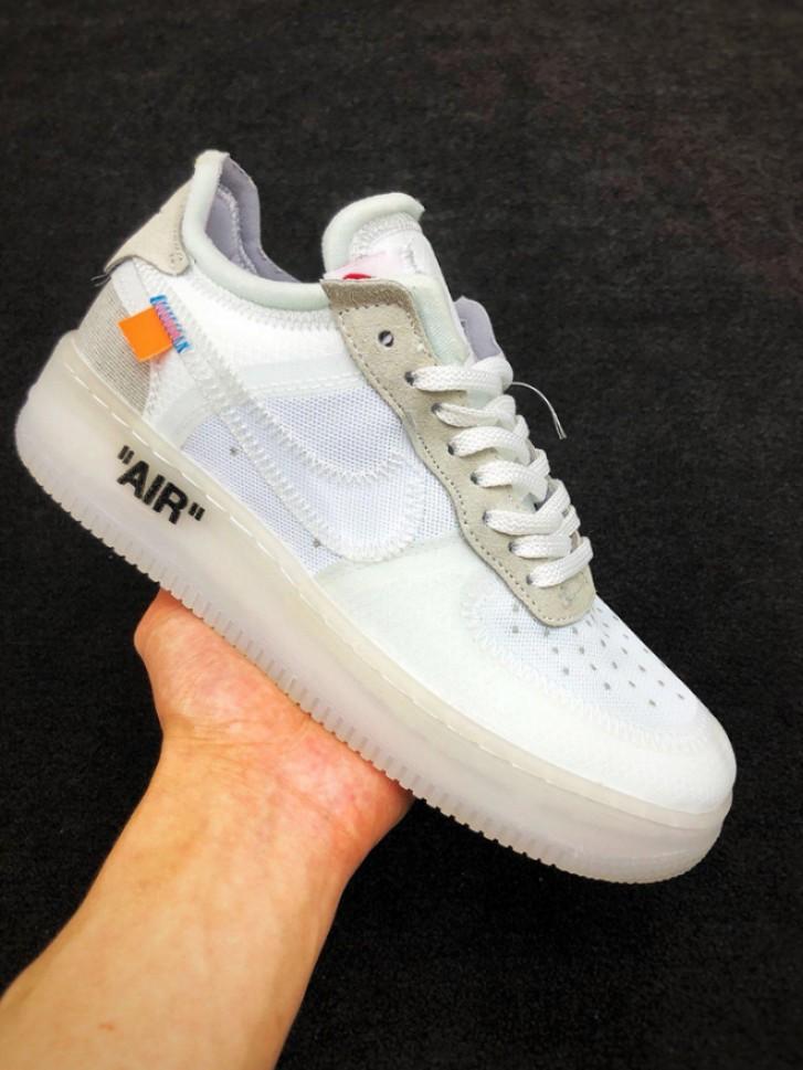 huge discount e4480 830da NIKE AIR FORCE 1 LOW OFF-WHITE, Men s Fashion, Footwear, Sneakers on ...