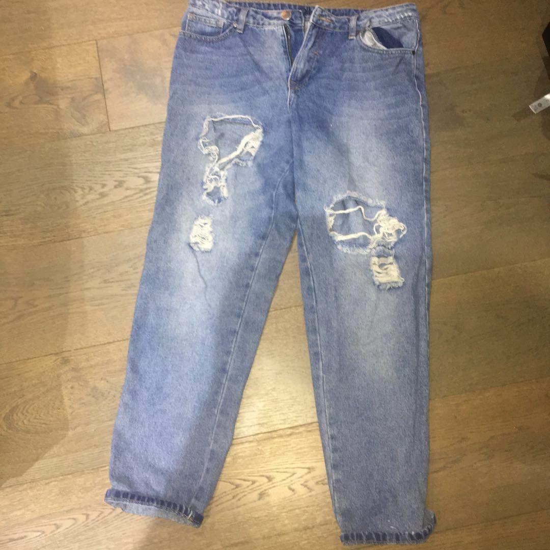 Ally Boyfriend Style Denim Jeans