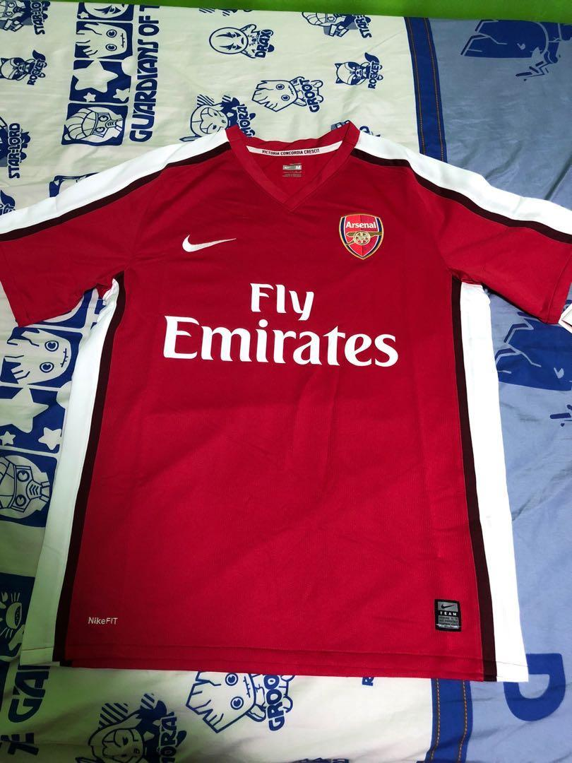 finest selection 84c72 50f92 Arsenal 08/09,09/10 Season Home Jersey, Sports, Sports ...