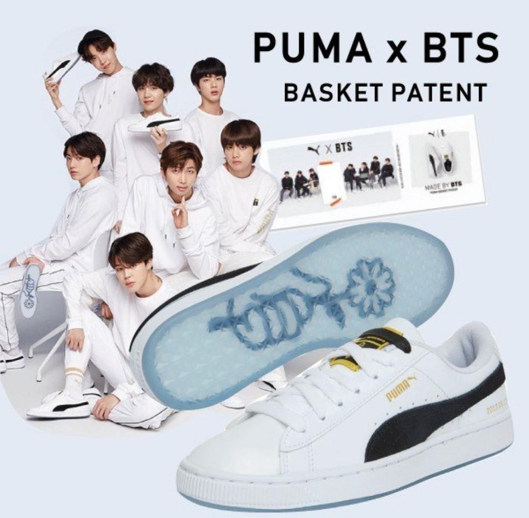 PO Authentic BTS x Puma Basket 2018 Collection, BTS x Court ...