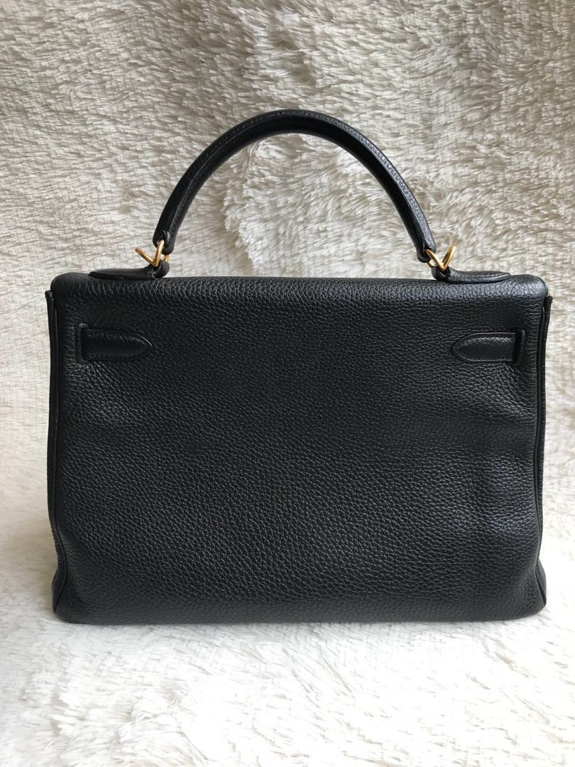 Best Deal⚡️Hermes Kelly 32 Black GHW Togo 49259f7a05