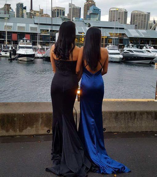 Black formal dress/gown