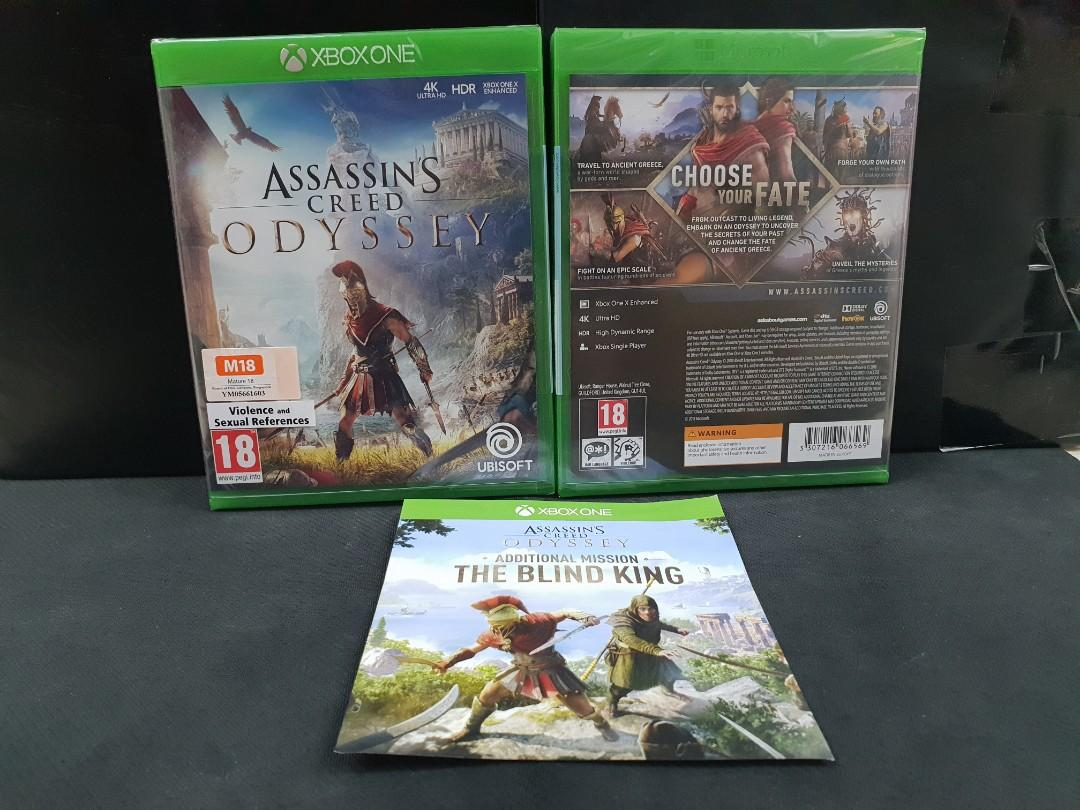 BN] XBOX ONE Assassins Creed Odyssey + The Blind King DLC