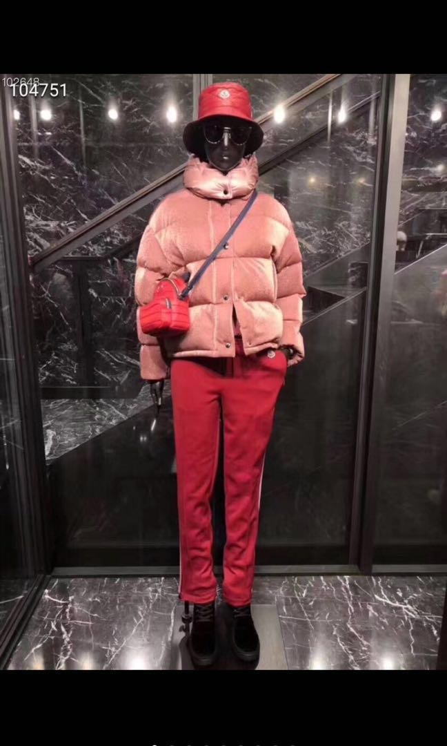 d26abf9048 BNWT Authentic Moncler Caille Velvet Pink Down Jacket, Women's Fashion,  Clothes, Outerwear on Carousell