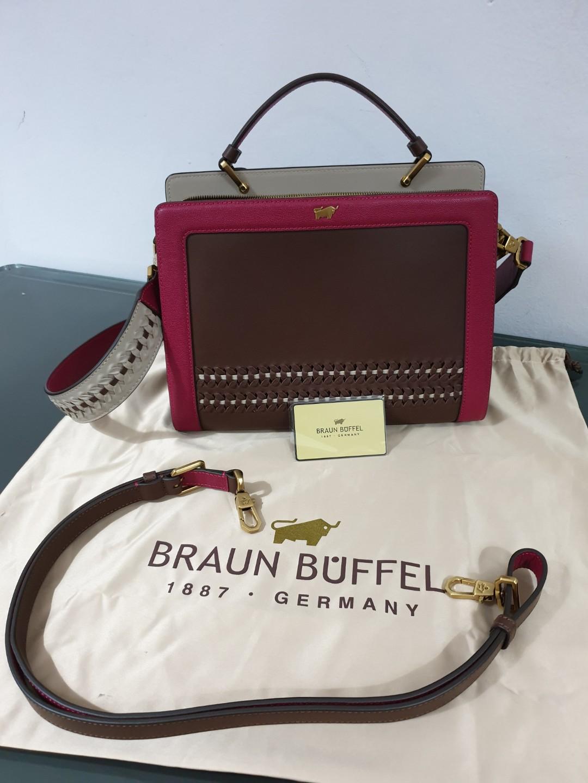 Braun Buffel Marlene Limited Edition - Beg Tangan Braun Buffel ... 25e34cb758