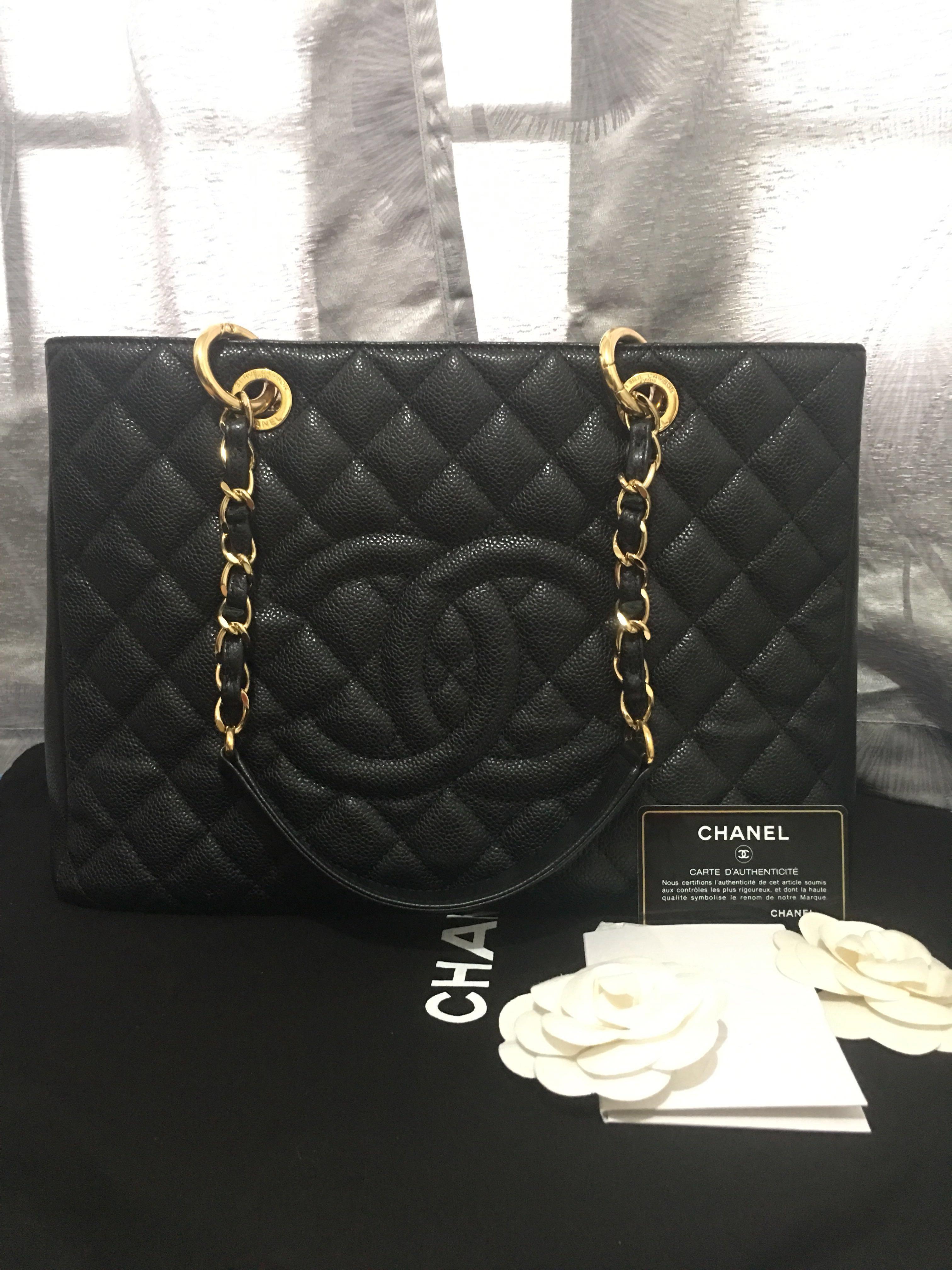 288e88f1e4d3 Chanel GST Caviar