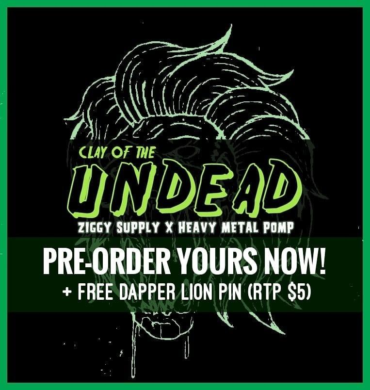 Clay Of The Undead (Limited Edition Hair Clay)