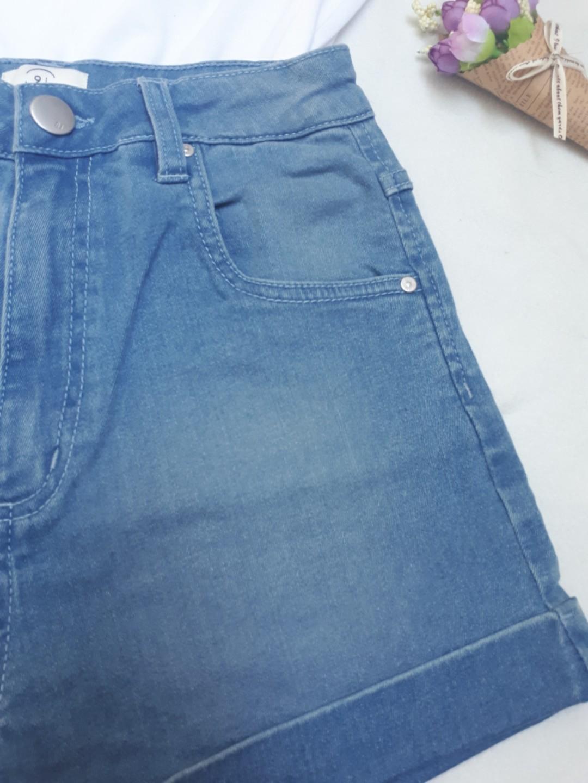 e6aed747628 Cotton on high waist classic denim shorts