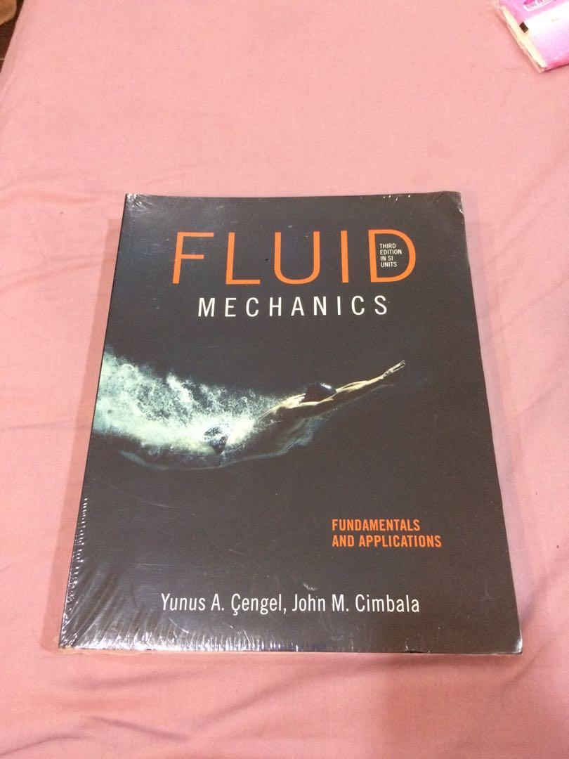Fluid Mechanics: Fundamentals and Applications A Level / Uni Mech  Engineering book