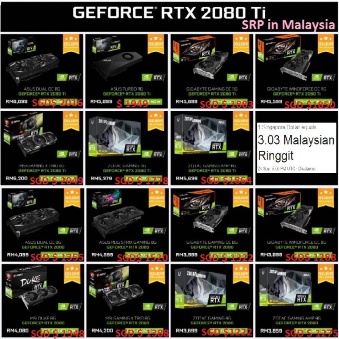 GTX 1080 ti    or MSI RTX 2080 Ti Gaming X Trio