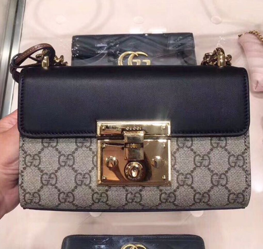 72935648fbcd2a Gucci padlock shoulder bag, Luxury, Bags & Wallets, Sling Bags on ...