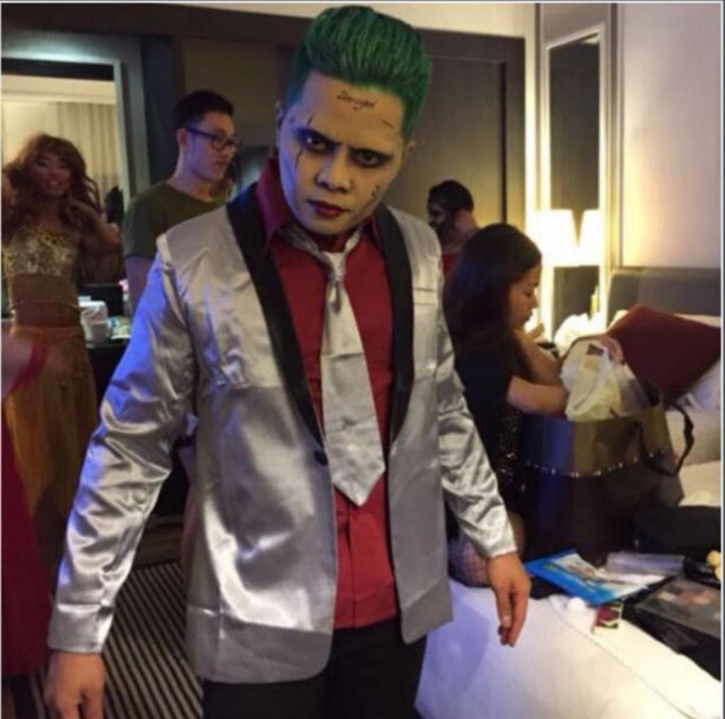 Halloween Suicide Squad Joker Costume Full Set Men S