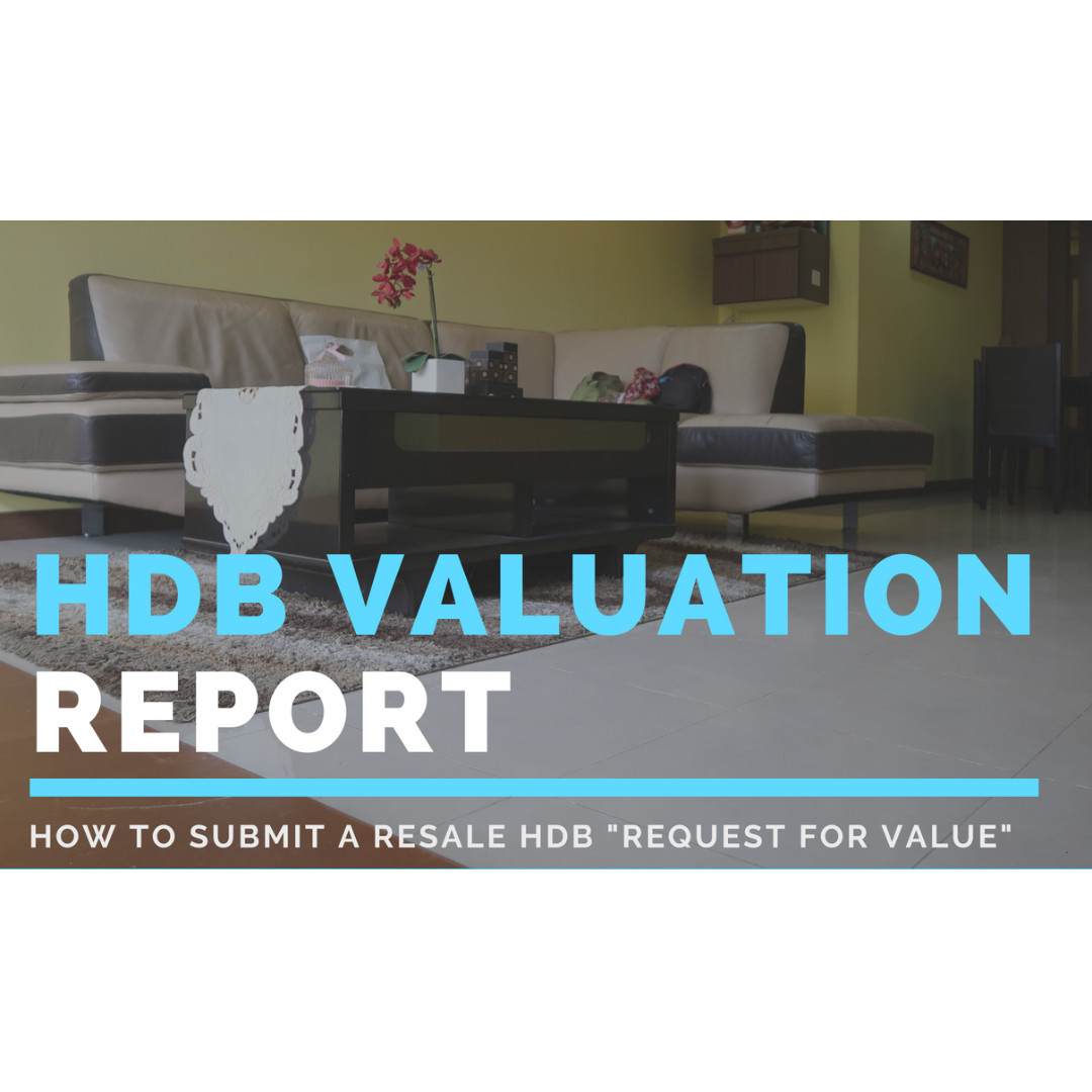 How to request for an HDB Resale Valuation Report or Request