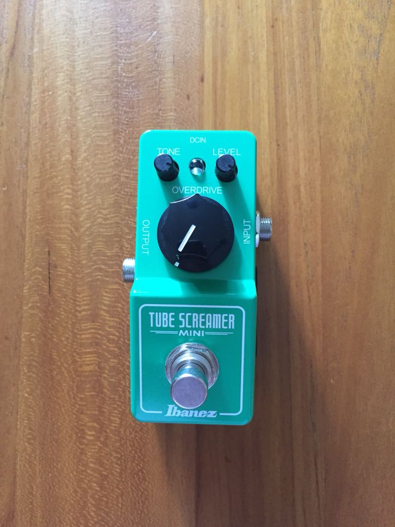 Ibanez Tube Screamer Mini Overdrive Guitar Pedal, Music