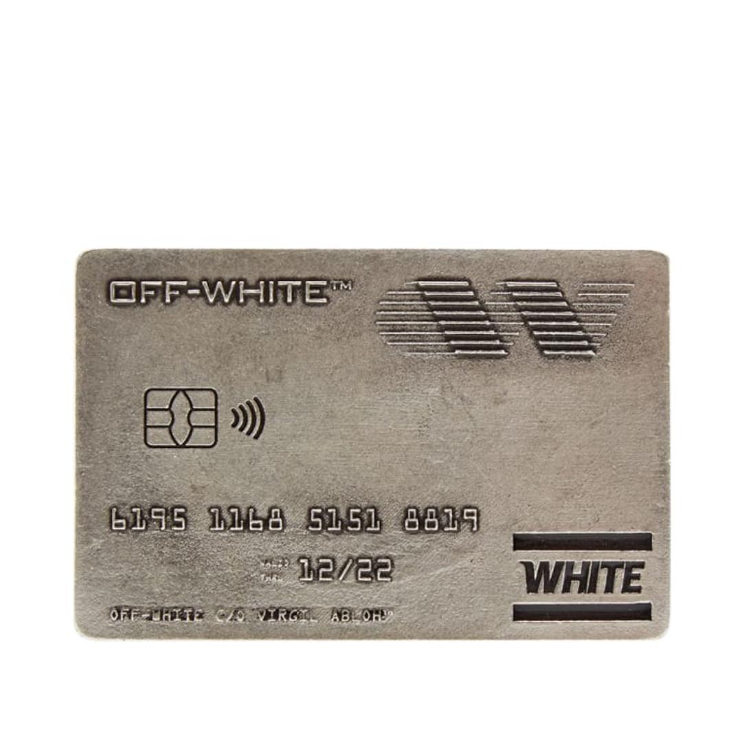🔥In Stock🔥 Off White Money Clip (Silver)