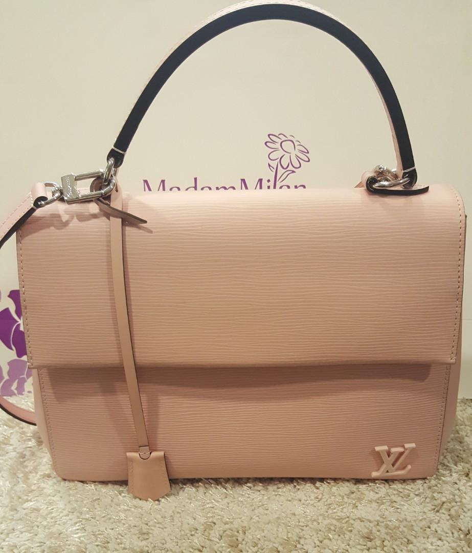 b0477b6da97e Louis Vuitton Cluny Mm Epi Rose Balle