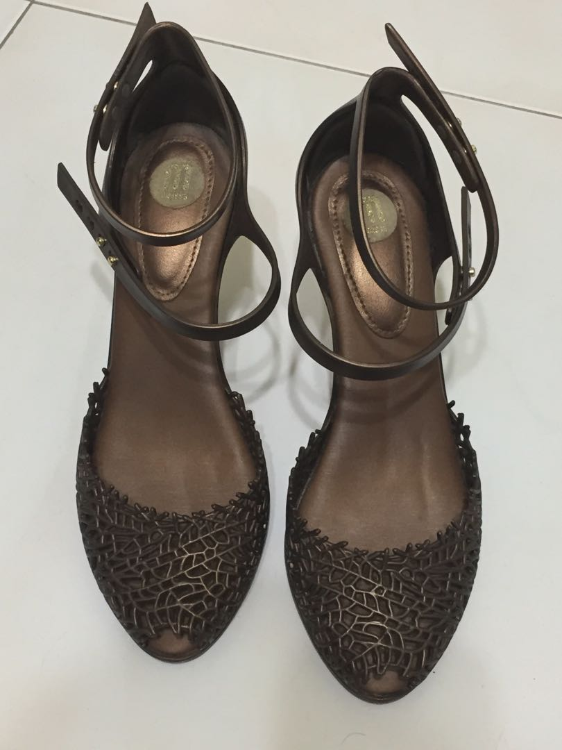 075af50d9f7 Melissa Dark Brown High Heels