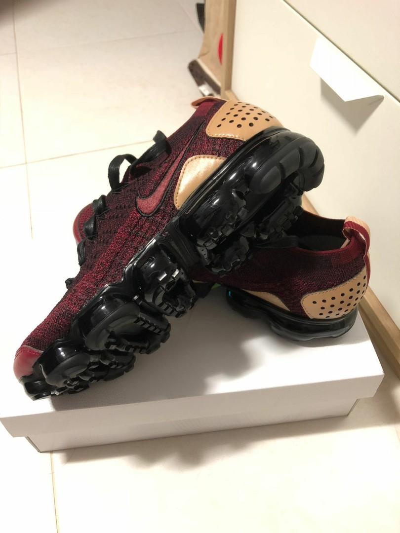 55a14299e2d24 Nike Air Vapormax Flyknit 2 NRG Red Black