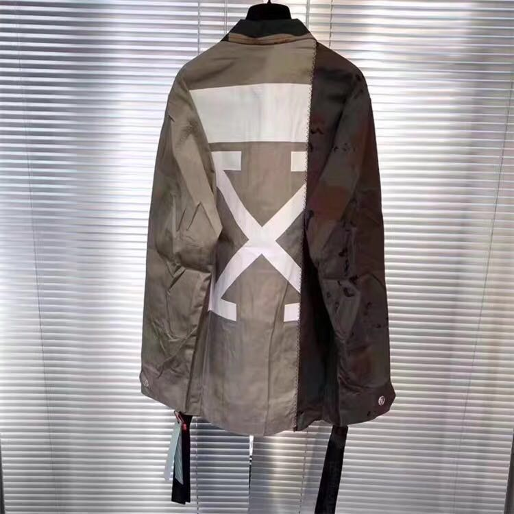 865b4a2482207 Off White Reconstructed Camo Field Jacket, Men's Fashion, Clothes,  Outerwear on Carousell