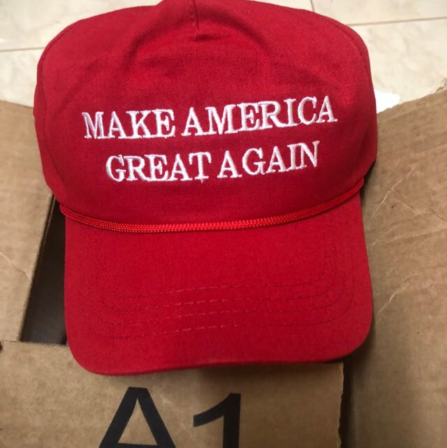 a5597660d3d Official Donald Trump Make America Great Again Hat - Red MAGA
