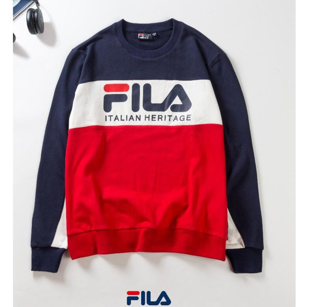 23dc0c008c73 PO Authentic FILA Sweater, Women's Fashion, Clothes, Tops on Carousell