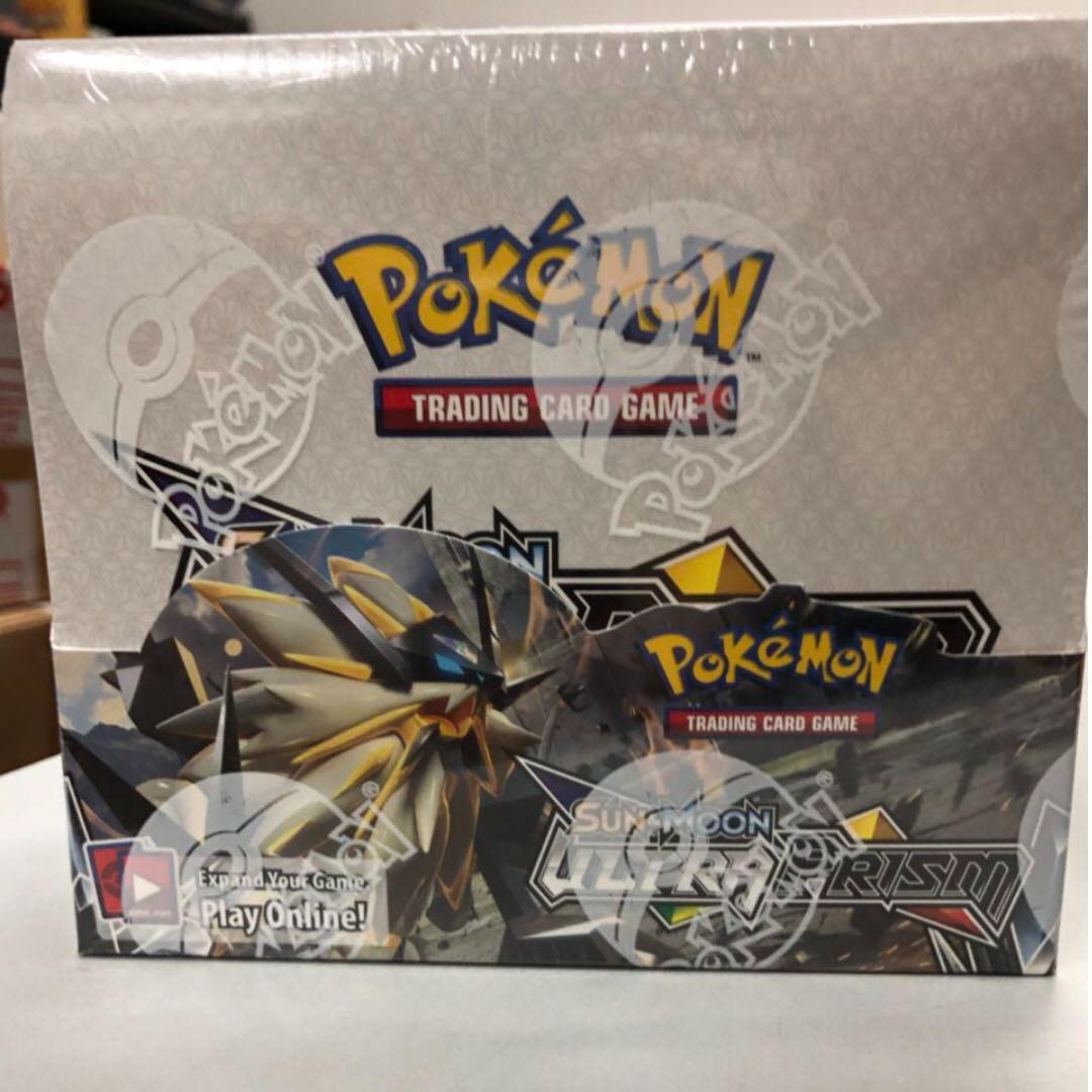 Pokemon Sun /& Moon Ultra Prism Booster Box Factory Sealed